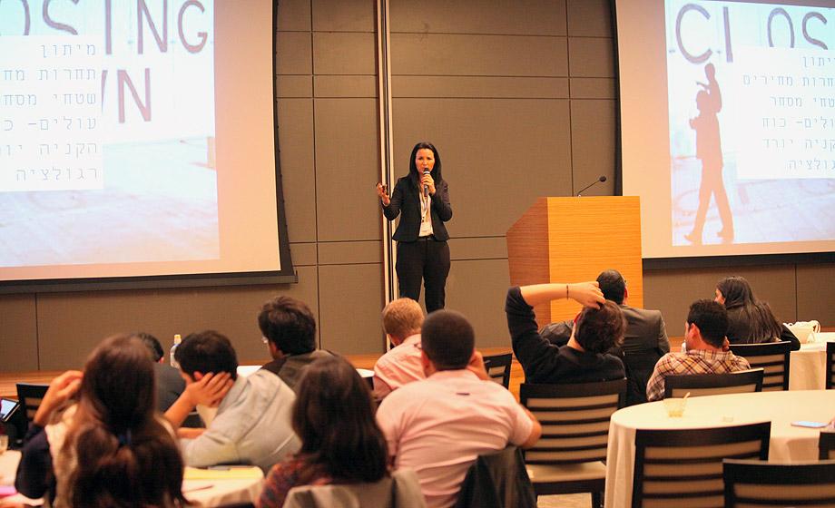 הרצאה בבורסה לניירות ערך- קמעונאות בזמן משבר